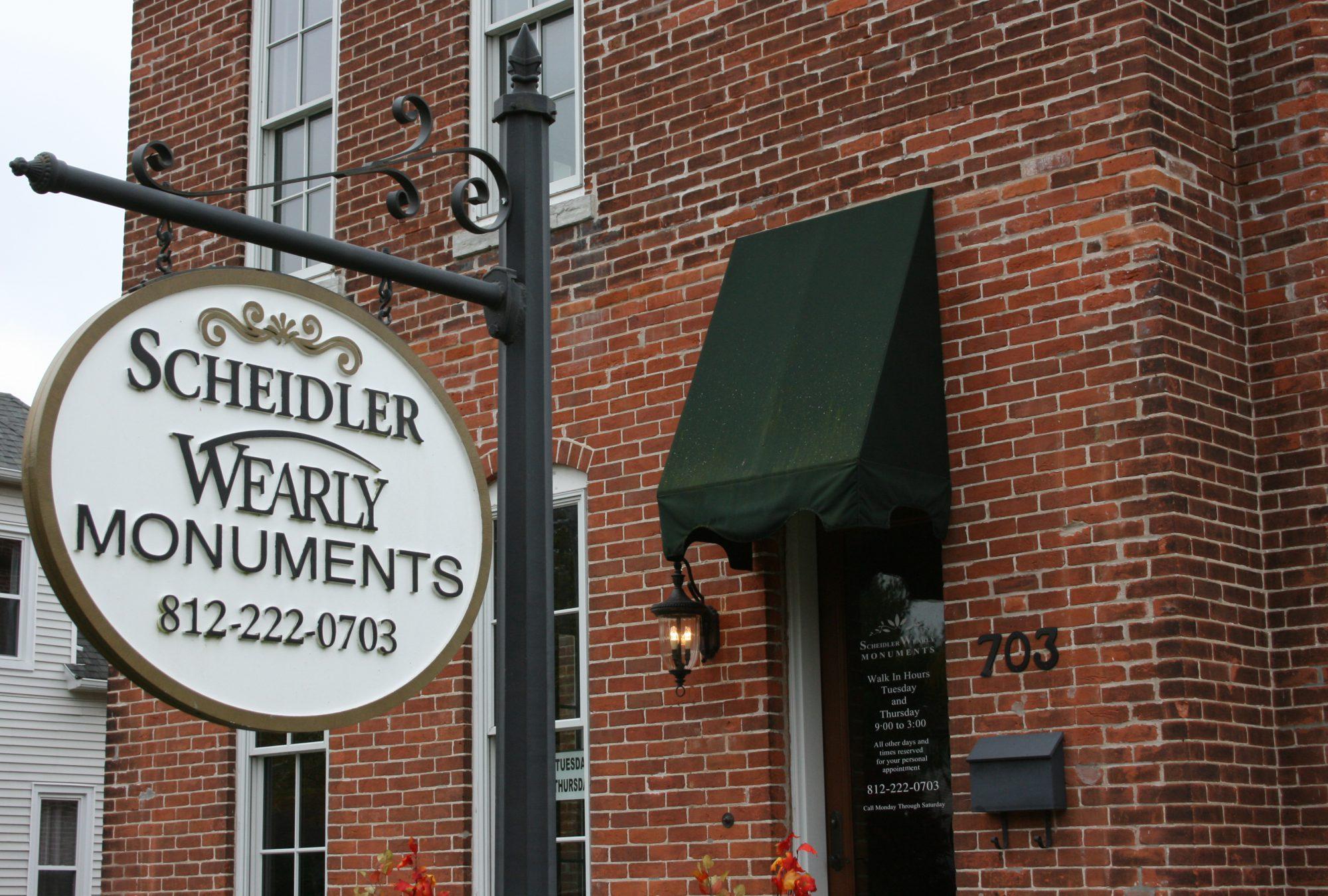 Scheidler-Wearly Monuments